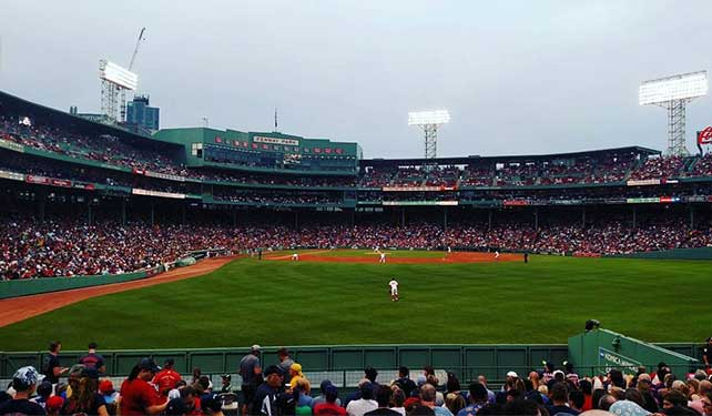 MCPHS Homecoming at Fenway Park