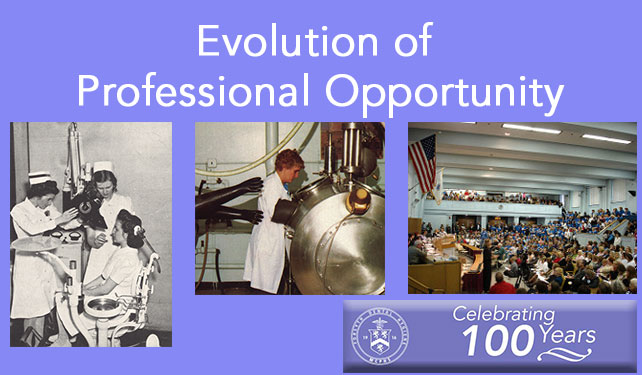 The Evolution of Professional Opportunity