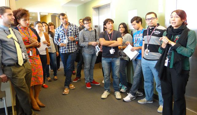 International Students Explore Career Center Services