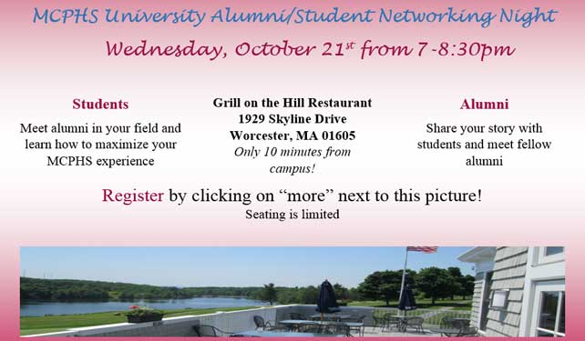Worcester Student/Alumni Networking Night!