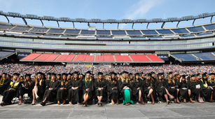 MCPHS Commencement 2015 at Gillette Stadium