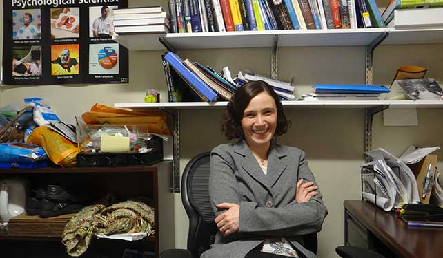 An ever-changing question: Dr. Amanda Kentner talks about the nature of research.